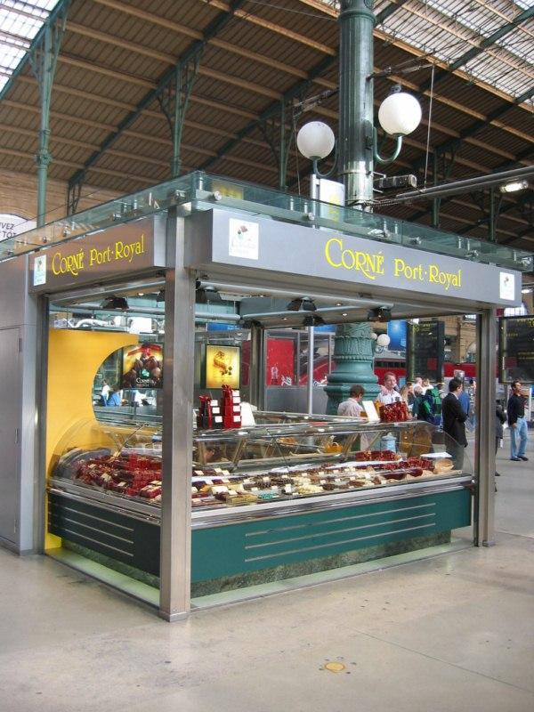 Kiosque paris gare du nord magasin aroport de bruxellles - Magasin de cuisine chatelet ...